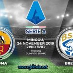 Prediksi AS Roma vs Brescia 24 November 2019