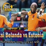 Prediksi Netherlands vs Estonia 20 November 2019