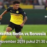 Prediksi Hertha Berlin vs Borussia Dortmund 30 November  2019