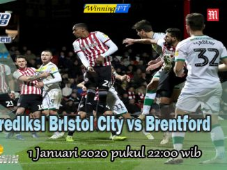 Prediksi Bristol City vs Brentford 1 Januari 2020