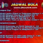 Jadwal Taruhan Bola 22-23 September 2020