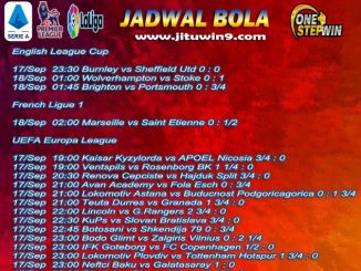 Jadwal Taruhan Bola 17-18 September 2020
