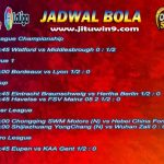Jadwal Taruhan Bola 11-12 September 2020