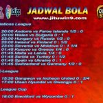 Jadwal Taruhan Bola 06-07 September 2020