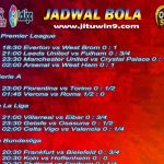Jadwal Taruhan Bola 19-20 September 2020
