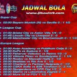 Jadwal Taruhan Bola 24-25 September 2020