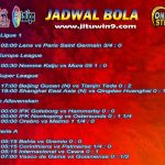 Jadwal Taruhan Bola 10-11 September 2020