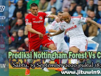 Prediksi Nottingham Forest Vs Cardiff City 19 September 2020