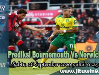 Prediksi Bournemouth Vs Norwich City 26 September 2020
