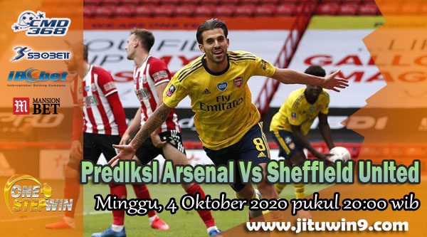 Prediksi Arsenal Vs Sheffield United 4 Oktober 2020