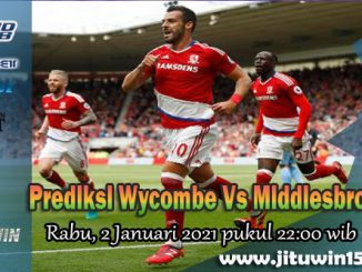 Prediksi Wycombe Vs Middlesbrough 2 Januari 2021